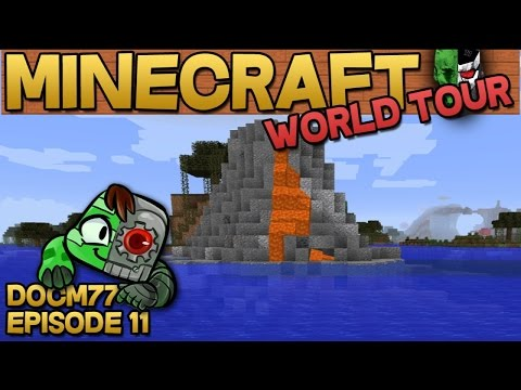 Volcano Island - The Minecraft World Tour - S4E011 | Docm77