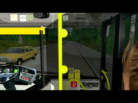 Let's Play OMSI-Bussimulator #009 MAN Lion's City durch Berlin-Heiligensee [Deutsch]