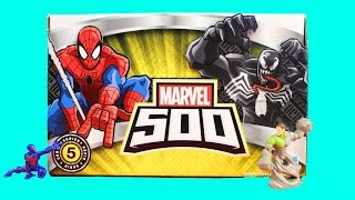 Marvel 500 Series 5 Surprise Blind Bag Opening With Spider-man And Venom