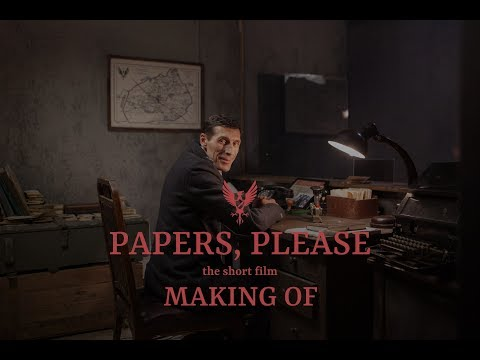 MAKING OF PAPERS, PLEASE - The Short Film (2018)
