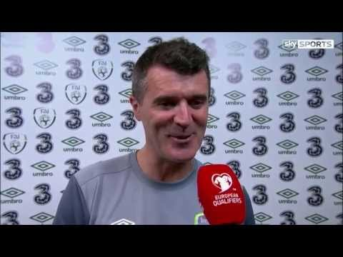 Republic of Ireland v Bosnia and Herzegovina - Post Match Interview - Roy Keane (16/11/15)