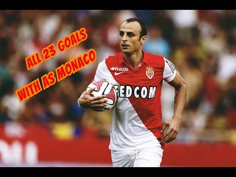 All 23 goals with As Monaco - Dimitar Berbatov