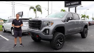 Is this Custom Lifted 2019 GMC Sierra AT4 done RIGHT?