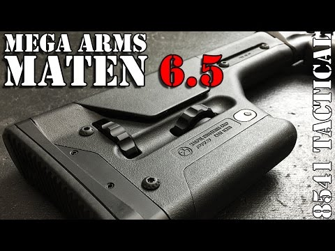Mega Arms Megalithic MATEN 6.5CM Build Magpul PRS and Magazine Release Install