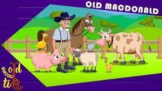 Old School Tie   old MacDonald had a farm   nursery rhymes for kids   learn farm animals   farm song