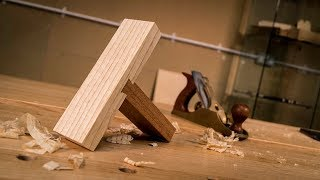 How to cut a DOVETAIL HOUSING JOINT by HAND