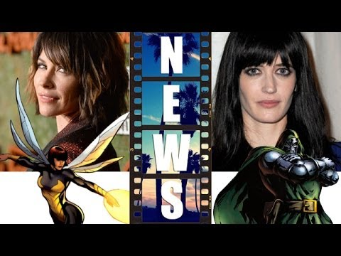 Evangeline Lilly is The Wasp in Ant-Man 2015, Female Dr Doom?! - Beyond The Trailer