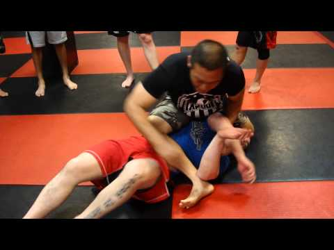 S Mount, submission grappling Image 1