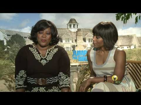 Jumping The Broom Angela Bassett & Loretta Devine on tradition & marriage
