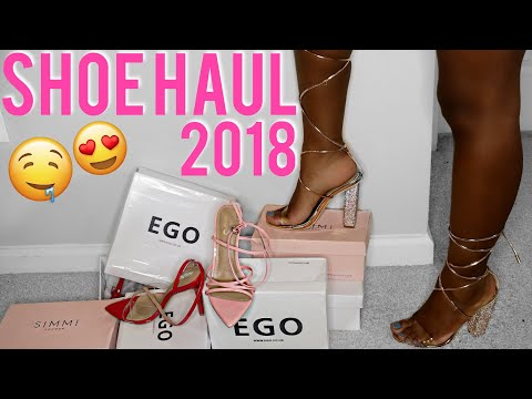Collective Shoe Haul ft. Simmi Shoes & EGO Shoes | Try On Haul 2018| iDESIGN8