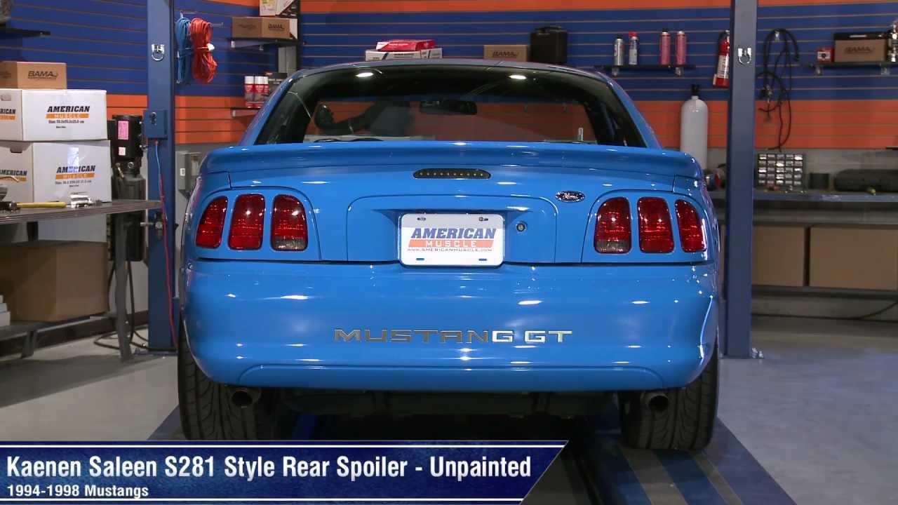 Mustang 1995 Saleen Mustang Kaenen Saleen S281