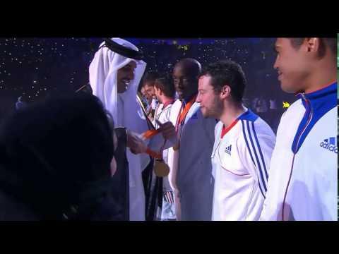 Piłka Ręczna MŚ 2015 Wręczenie Medali #1 Miejsce Francja 01.02.2015