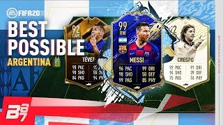 BEST POSSIBLE ARGENTINA TEAM! | FIFA 20 ULTIMATE TEAM