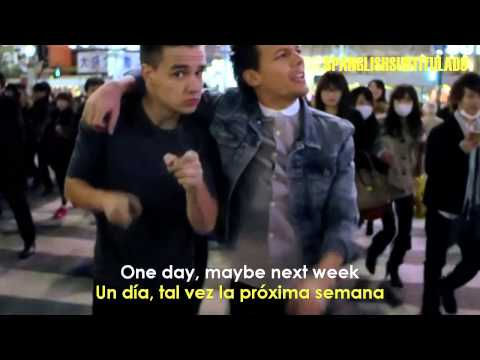 One Direction - One Way Or Another (lyrics - Sub En Español). video