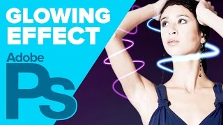 How to create a glow effect in Photoshop CS4+