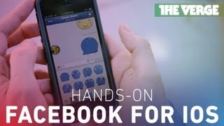 The new Facebook for iOS hands-on preview