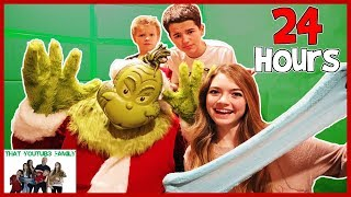 24 Hours Trapped In Box Fort With The Grinch / That YouTub3 Family I Family Channel
