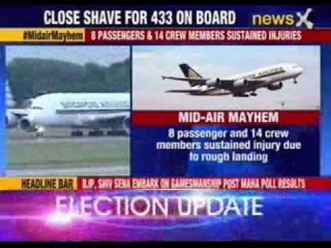 Close shave for more than 400 passengers of Singapore Airlines