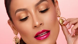 UNIVERSAL EYE LOOK FOR ANY LIP COLOR | DESI PERKINS