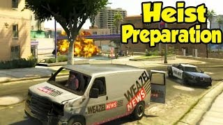 GTA 5 Online - THE CHASE! (Preparing For Heists Ep. 2) [GTA V Epic Funny Moments Gameplay]