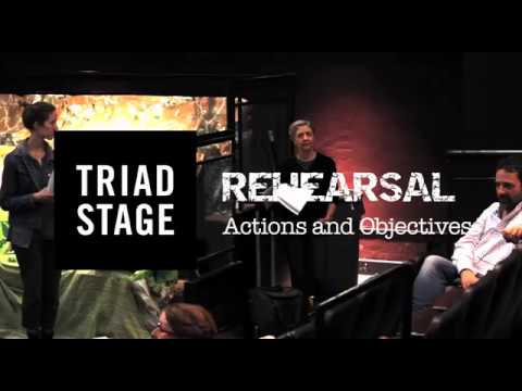 Triad Stage - Actions and Objectives: Rehearsal clip 1