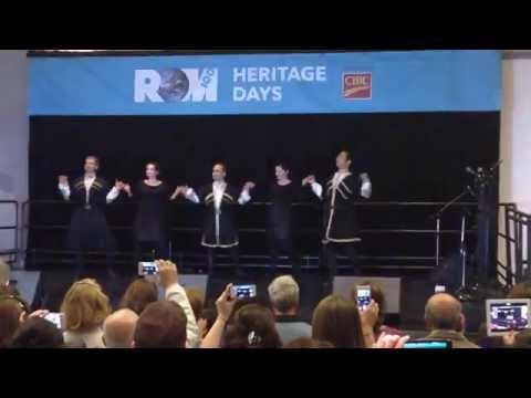 Azari Dance 1, Iranian Heritage Day 2014 رقص آذری video