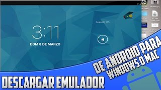 Como Descargar Emulador De Android (Mejor que Bluestacks y YouWave) (Para Windows y Mac) HD