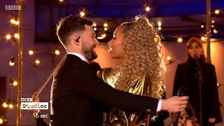 Calum Scott & Leona Lewis - You Are The Reason Live on The One Show +Interview. 14 Feb 2018
