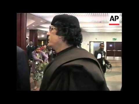 African leaders inc Mugabe, Gadhafi, at AU summit, comment on Kenya