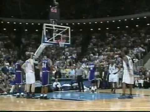 Or this may be the best part, enjoy!! // The best game of the series!!! Fight, T-Mac thrashtalking and dissing Glenn Robinson, Ray Allen dunks on T-Mac but T...