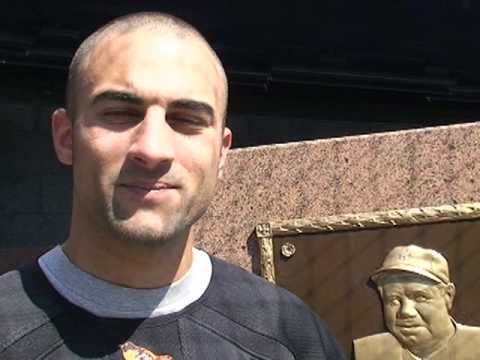 Nick Markakis video diary: Nick on playing at Yankee Stadium Video