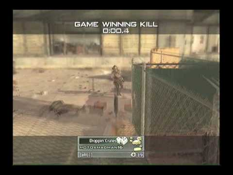 SICK THROWING KNIFE :: Game Winning Kill :: MW2 :: Xbox 360