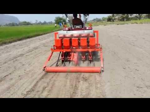 Rice Seed Planter เครืองหยอดแห้ง แบบจานเปิดร่อง-2