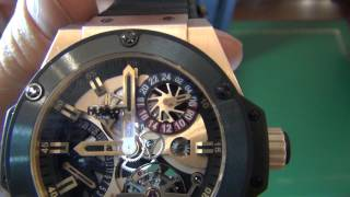 Hublot King Power Tourbillon GMT Gold 706.OM.1180.RX