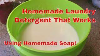 Homemade Liquid Laundry Detergent Made Easy