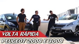 Download PEUGEOT 2008 X 3008 - VOLTA RÁPIDA COM RUBENS BARRICHELLO #54 | ACELERADOS 3Gp Mp4