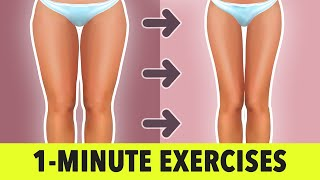 1- Minute Lower Body Exercises: Legs, Thighs, Glutes