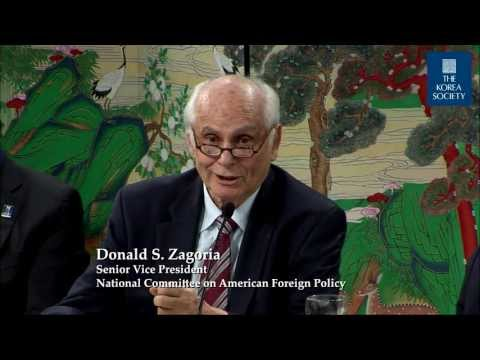 Professor Donald Zagoria: China-Taiwan a Model for Regional Conflict Resolution?