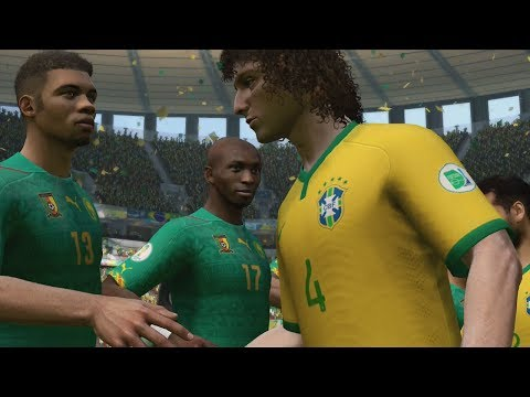 FIFA World Cup 2014: Brazil vs Cameroon (Group A) Simulation (EA FIFA World Cup 2014 Brazil)