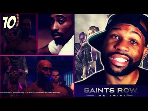 Saints Row 3 the Third Walkthrough Part 10 - Tupac Back