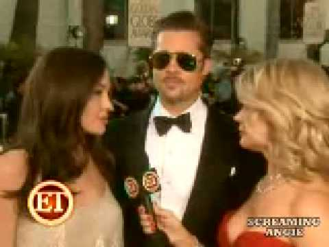 Brad Pitt & Angelina Jolie @ The Golden Globe Award 2009