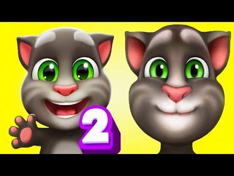 Мой Говорящий Том 2 НОВАЯ ИГРА #22 Друзья Анджела Хомяк My Talking Tom 2 Игровой мультик для детей