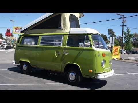 1977 VW Volkswagon Westfalia Camper bus RV For Sale