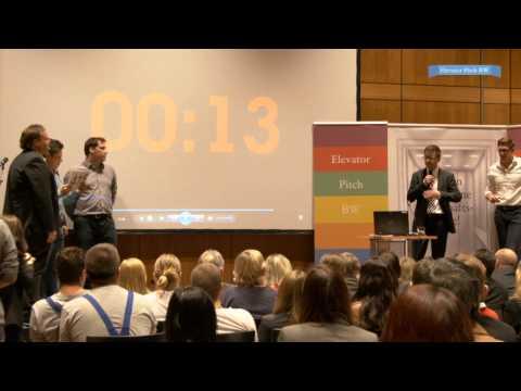 """28.03.2014: Gründermesse Neckar-Alb - 1. Platz des Startup-Wettbewerbs """"Elevator Pitch"""""""