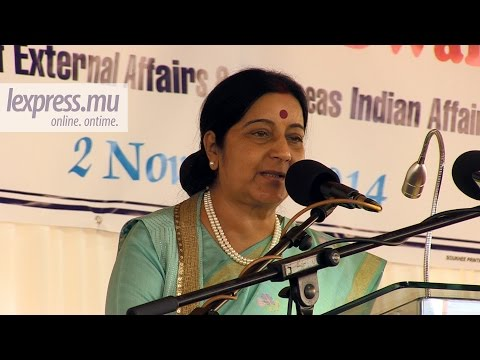 Sushma Swaraj: India will always support Mauritius