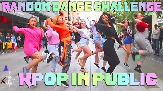 [KPOP IN PUBLIC] RANDOM DANCE CHALLENGE | BTS, BLACKPINK, TWICE, PENTAGON, SUNMI & MORE | THE KULT