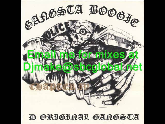 Gangsta Boogie Chapter 4 - Dj Boogie Boy Chicago Rap Mix - West Coast 90's Rap G-Funk Chicago Gangs