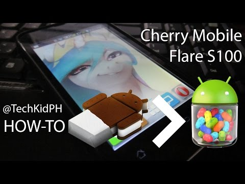 How to Upgrade Cherry Mobile Flare to Android 4.1 Jelly Bean