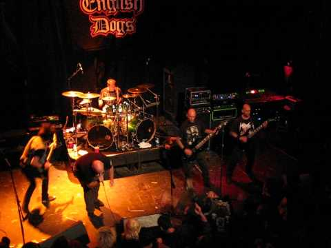 "ENGLISH DOGS - ""Forward into Battle / Ultimate Sacrifice"" Live at Studio Seven 02.21.2012"
