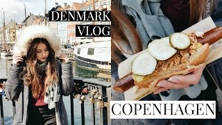 COPENHAGEN TRAVEL VLOG // VEGAN HOT DOGS ❤